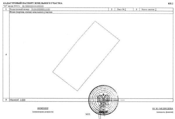 Важные нюансы: как выглядит кадастровый паспорт на земельный участок? Бланк, заполненный образец и фото документа