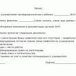 Образец заявления об удочерении в суд